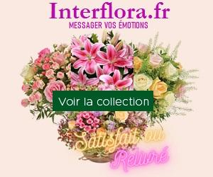 Interflora.fr - Envoyez des fleurs partout en France et à l'étranger!